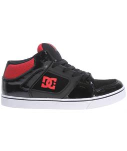 DC Patrol Skate Shoes Black/Athletic Red/Black