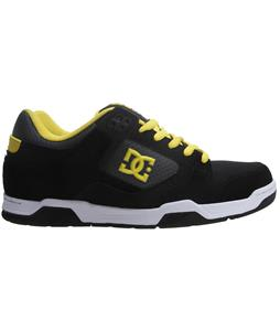 DC Prime Skate Shoes Black/Yellow