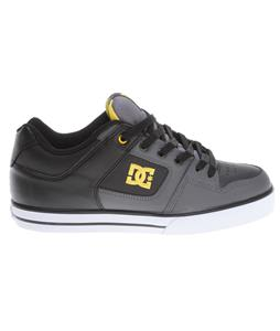 DC Pure Skate Shoes Battleship/Yellow
