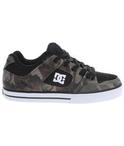 DC Pure SP Skate Shoes Black/Camo