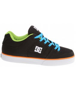 DC Pure TX Skate Shoes Black/Multi