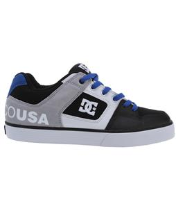 DC Pure XE Shoes Black/Royal/Armor