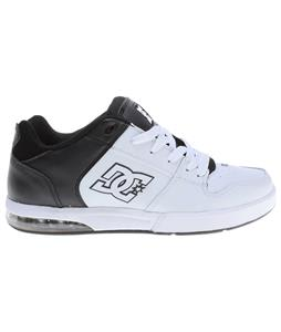 DC Racket Skate Shoes White/Black