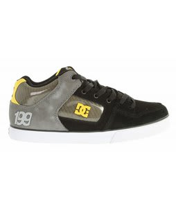 DC Radar Slim TP Skate Shoes Black/Yellow