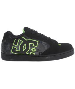 DC Raif SE Skate Shoes Black/Lime