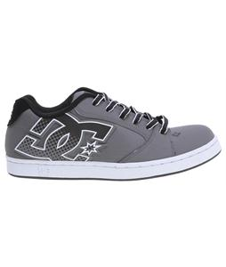 DC Raif Skate Shoes Battleship/White
