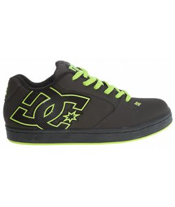 DC Raif Skate Shoes Pirate Black/Soft Lime