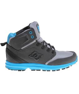 DC Ranger Boots Black/Armor/Turquoise