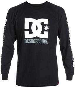 DC RD USA L/S 2 T-Shirt Black