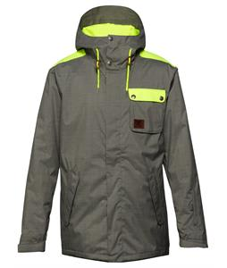DC Reality Snowboard Jacket Pewter