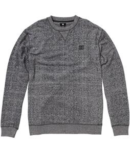 DC Rebel Crew Sweatshirt Dark Heather Grey