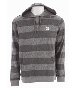 DC Rebel Stripe Hoodie Heather Dark Shadow