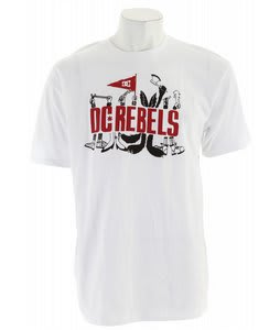 DC Rebels T-Shirt White