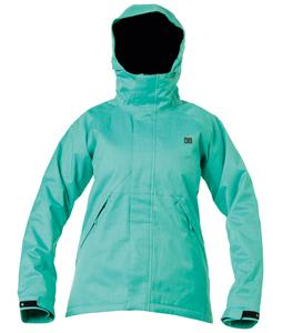 DC Reflect Snowboard Jacket Arcadia Green