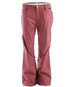 DC Relay Snowboard Pants Biking Red