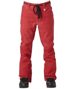 DC Relay Snowboard Pants Rio Red