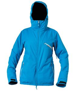 DC Riji Snowboard Jacket Blue Jay