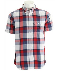 DC Riot Shirt Blue Indigo