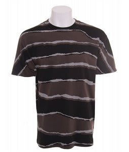 DC Rip Stripe T-Shirt Gunmetal