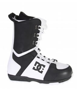 DC Rogan Snowboard Boots Black White