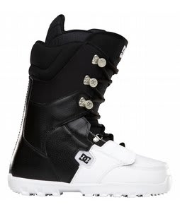 DC Rogan Snowboard Boots Black/White