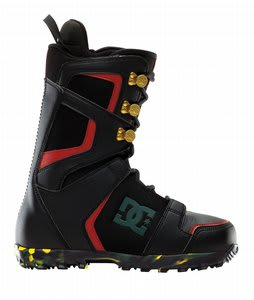 DC Rogan Snowboard Boots Black/Rasta
