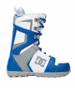 DC Rogan Snowboard Boots White/Blue/Grey