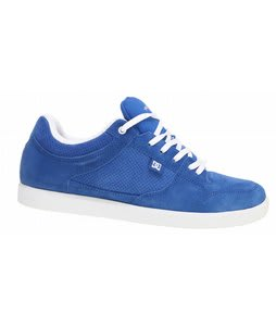 DC Royal Low Skate Shoes Royal/White