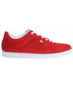 DC Royal Low Skate Shoes Red/White