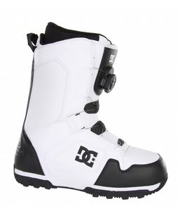 DC Scout BOA Snowboard Boot Black/White