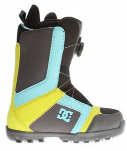 DC Scout BOA Snowboard Boots Blue/Yellow/Grey