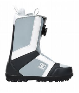DC Scout BOA Snowboard Boots Grey/White
