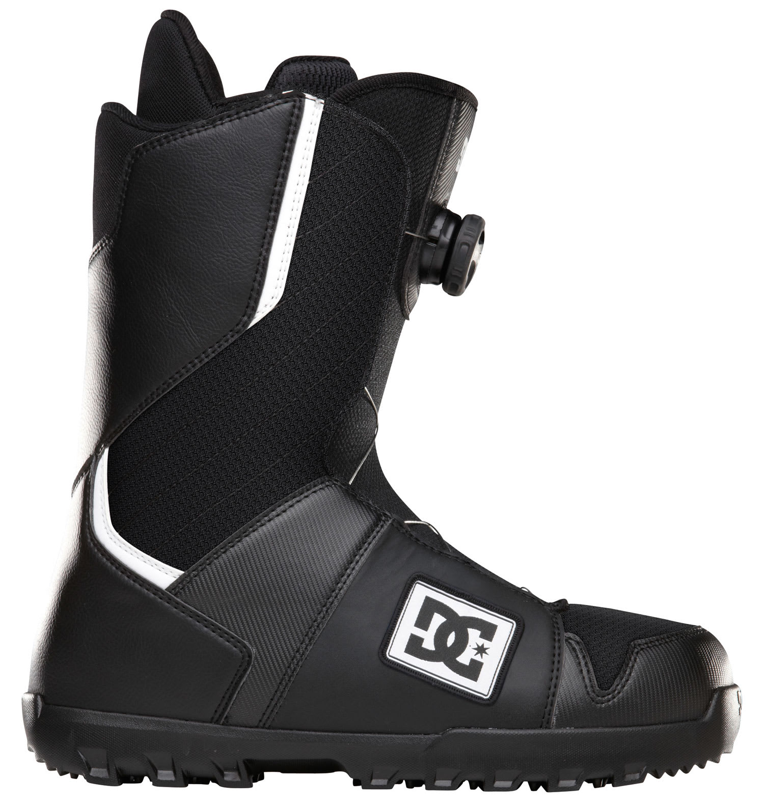 DC Scout Snowboard Boots Black/White - Men's