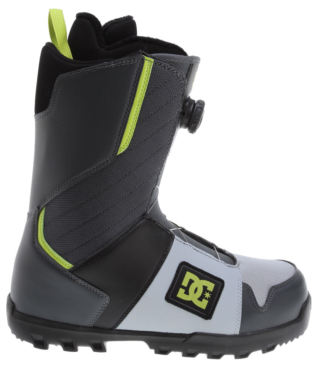 DC Scout Snowboard Boots Grey/Black - Men's