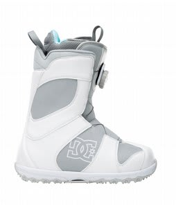 DC Search BOA Snowboard Boots White