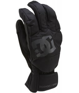 DC Seger Gloves Black