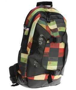 DC Sender Backpack Red Plaid