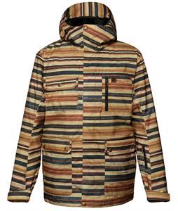 DC Servo Snowboard Jacket 7 Ply Print