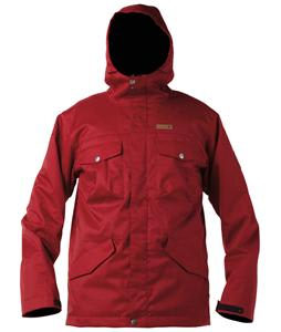 DC Servo Snowboard Jacket Biking Red