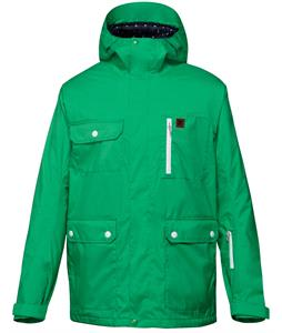 DC Servo Snowboard Jacket Bright Green