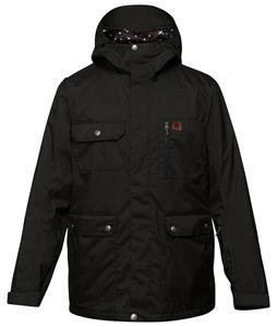 DC Servo Snowboard Jacket Caviar