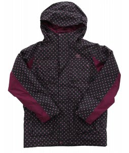 DC Servo K Snowboard Jacket Black/Orchid/Purple