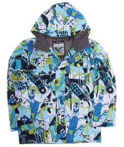 DC Servo Snowboard Jacket Bizmut