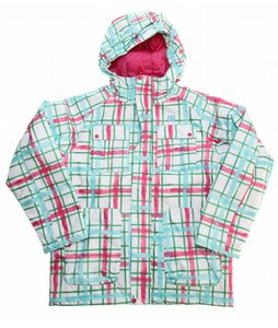 DC Servo K Snowboard Jacket Emerald Plaid