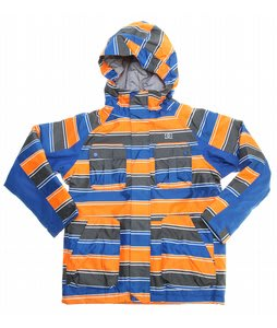 DC Servo K Snowboard Jacket Hazard/Olympian Blue Stripe