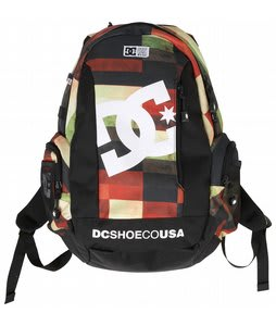 DC Seven Point 7 Backpack Red Plaid
