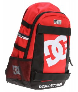 DC Seven Point 5 Backpack Athletic Red