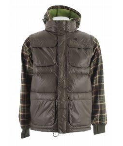 DC Silverton Snowboard Jacket Grunge Plaid