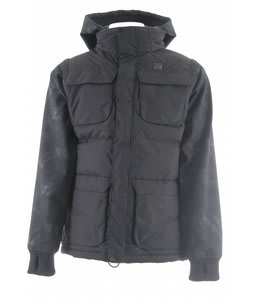 DC Silverton Snowboard Jacket Hand Dye Black