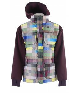 DC Silverton Snowboard Jacket Pixel